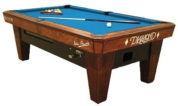 Diamond billiards for sale miami diamond billiards for - Professional pool table size ...