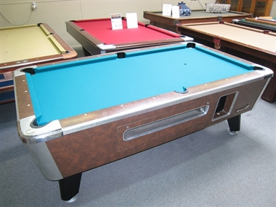 Olhausen Air Hockey Table Valley Commercial Style 7 Foot Pool Table